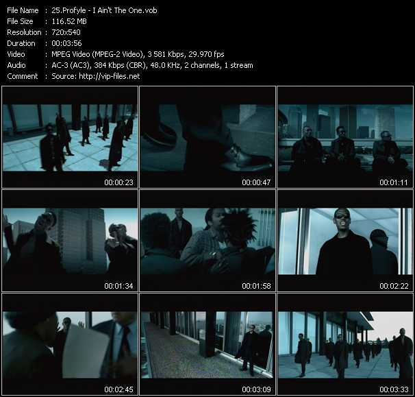 Profyle video screenshot