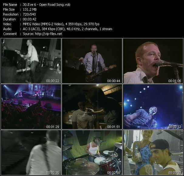 Eve 6 video screenshot
