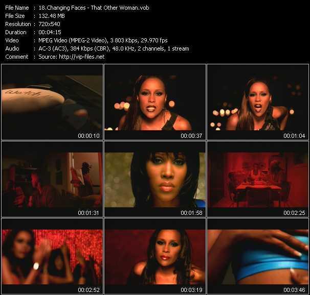 Changing Faces video screenshot