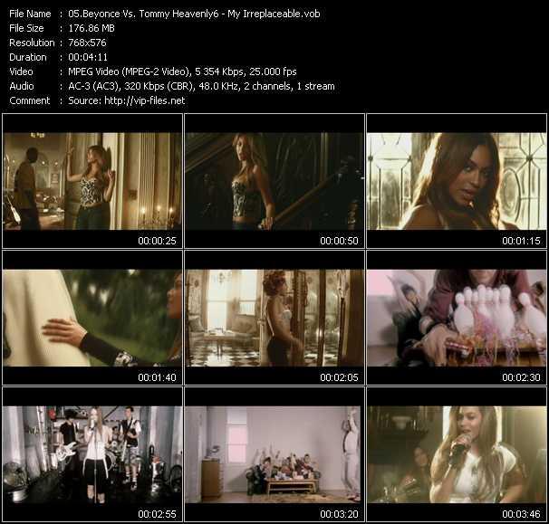 Beyonce Vs. Tommy Heavenly6 video screenshot