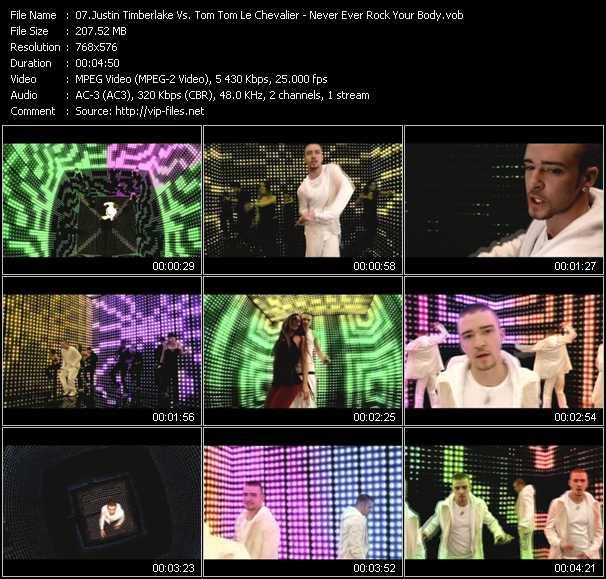 Justin Timberlake Vs. Tom Tom Le Chevalier video screenshot
