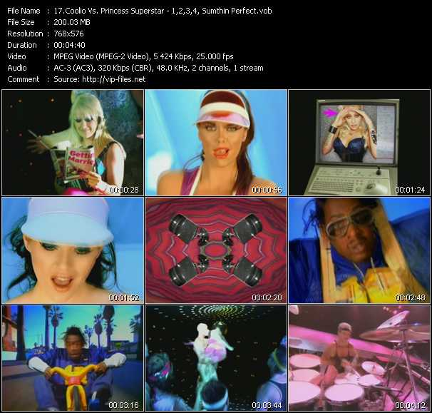 Coolio Vs. Princess Superstar video screenshot