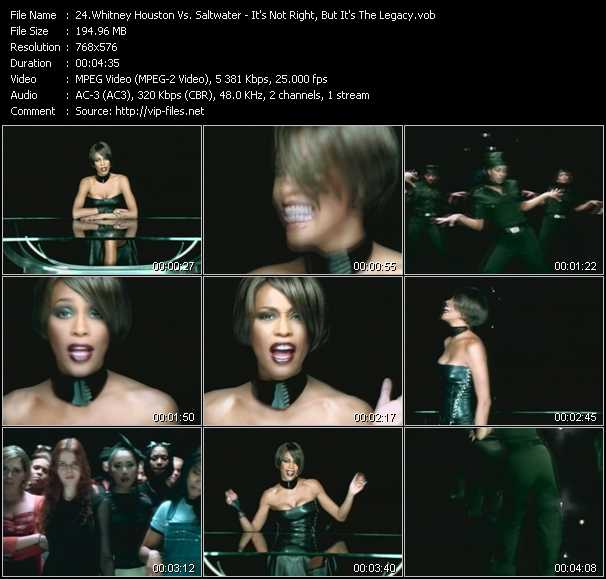 Whitney Houston Vs. Saltwater video screenshot