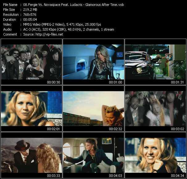 Fergie Vs. Novaspace Feat. Ludacris video screenshot