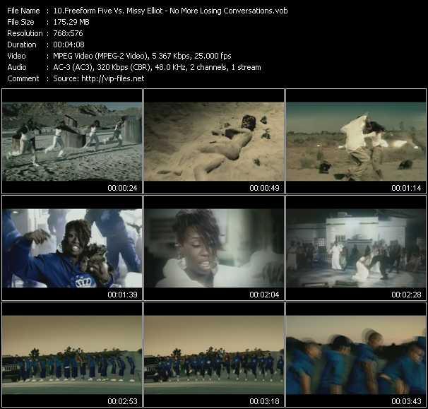Freeform Five Vs. Missy Elliott video screenshot
