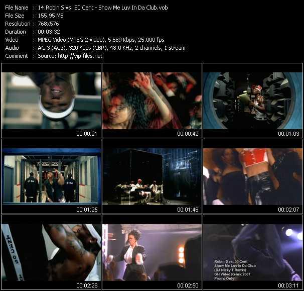 Robin S. Vs. 50 Cent video screenshot