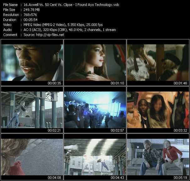 Axwell Vs. 50 Cent Vs. Clipse video screenshot