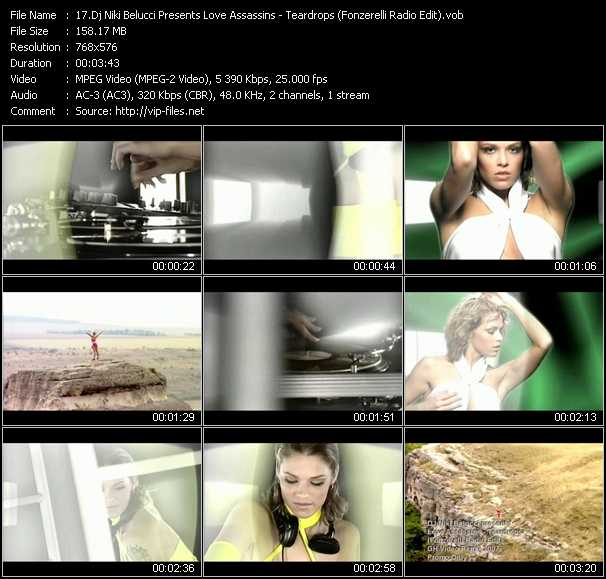 Dj Niki Belucci Presents Love Assassins video screenshot