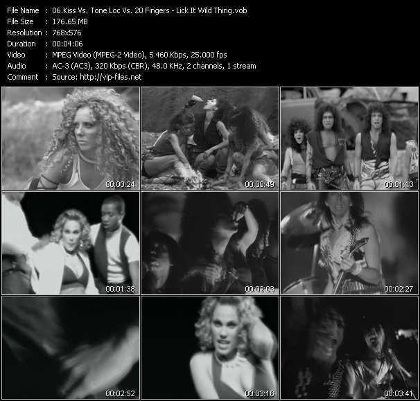 Kiss Vs. Tone Loc Vs. 20 Fingers video screenshot