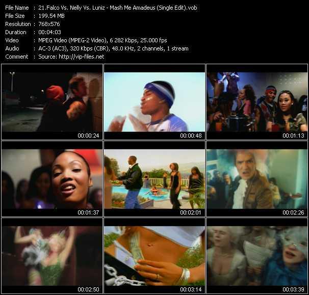 video Mash Me Amadeus (Single Edit) (Dj Schmolli Mashup Mix) screen