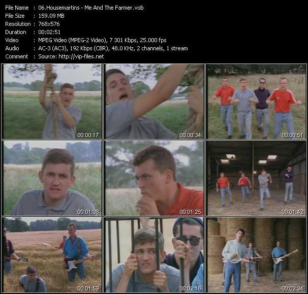 Housemartins video screenshot