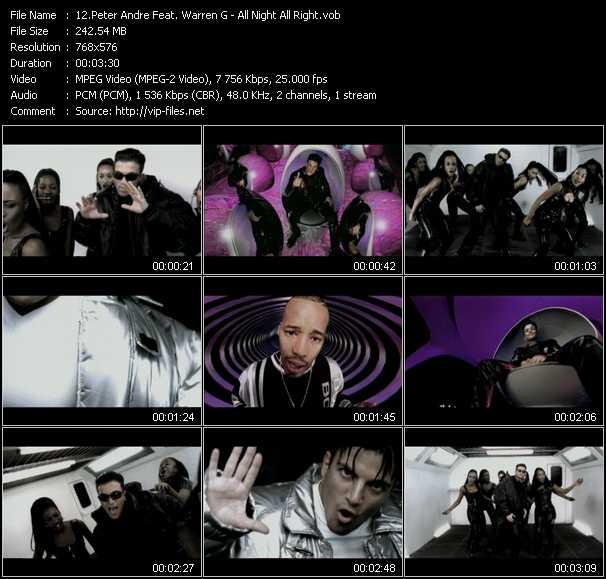 Peter Andre Feat. Warren G video screenshot
