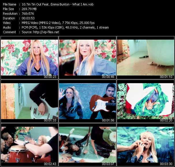 Tin Tin Out Feat. Emma Bunton video screenshot