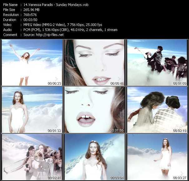 Vanessa Paradis video screenshot