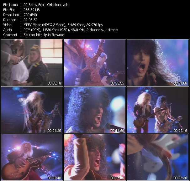 Britny Fox video screenshot