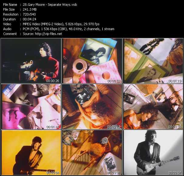 Gary Moore video screenshot
