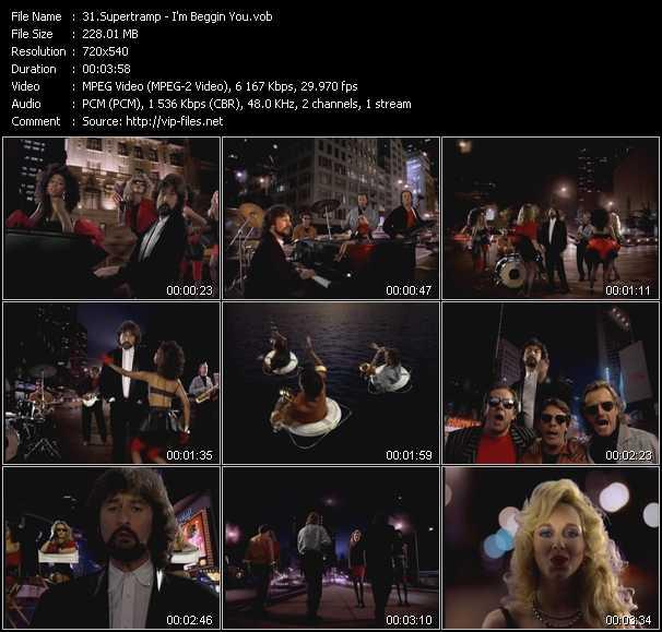 Supertramp video screenshot
