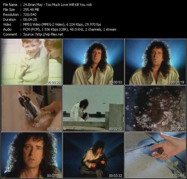 Brian May video screenshot