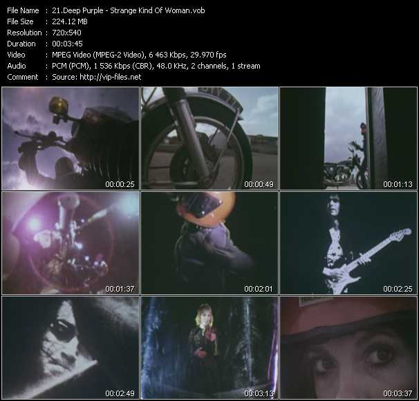 Deep Purple video screenshot