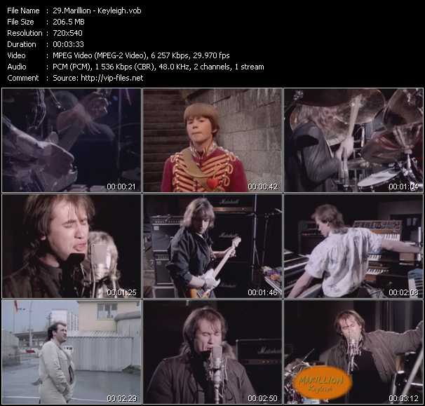 Marillion video screenshot
