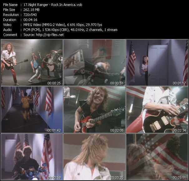 Night Ranger video screenshot