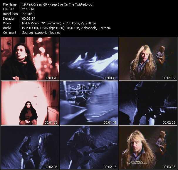 Pink Cream 69 video screenshot