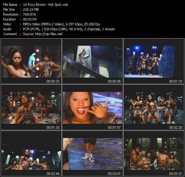 Foxy Brown video screenshot