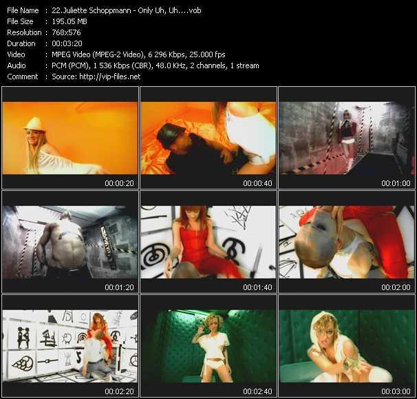 Juliette Schoppmann video screenshot