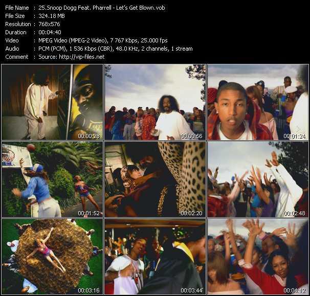 Snoop Dogg Feat. Pharrell Williams video screenshot