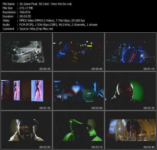Game Feat. 50 Cent video screenshot