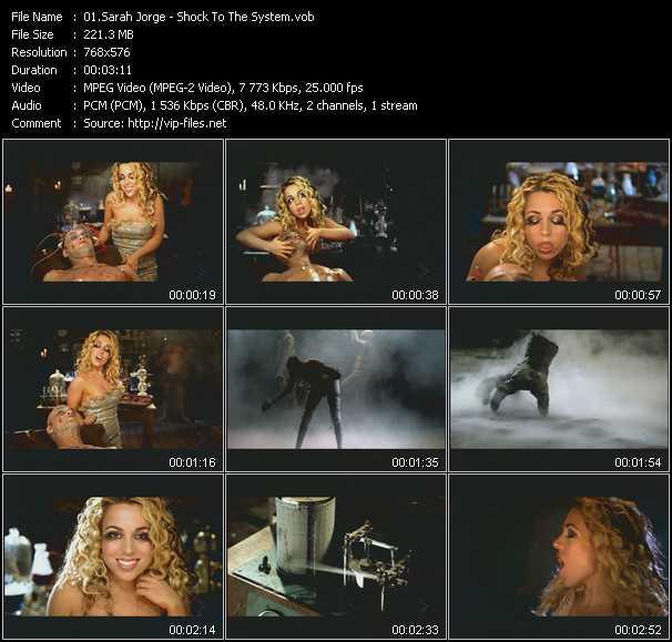 Sarah Jorge video screenshot