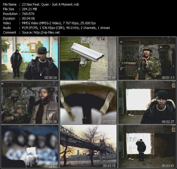 Nas Feat. Quan video screenshot