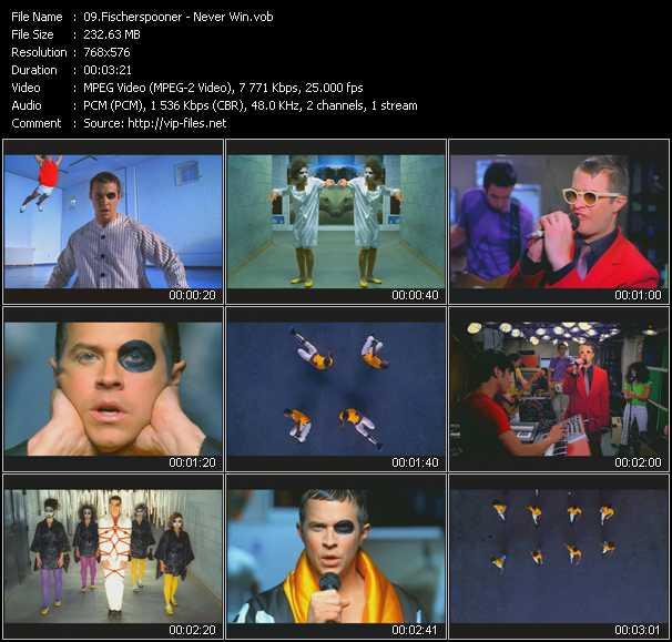 Fischerspooner video screenshot