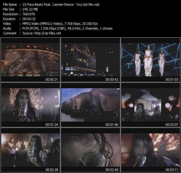 Para Beats Feat. Carmen Reece video screenshot
