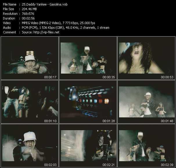 video Gasolina screen