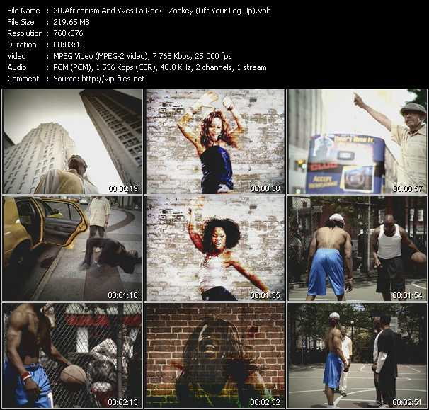 Africanism And Yves La Rock video screenshot