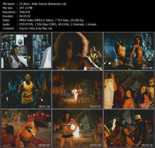 video Belly Dancer (Bananza) screen