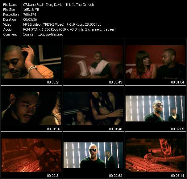 Kano Feat. Craig David video screenshot