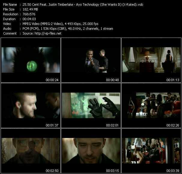 50 Cent Feat. Justin Timberlake video screenshot