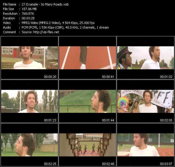 Example video screenshot
