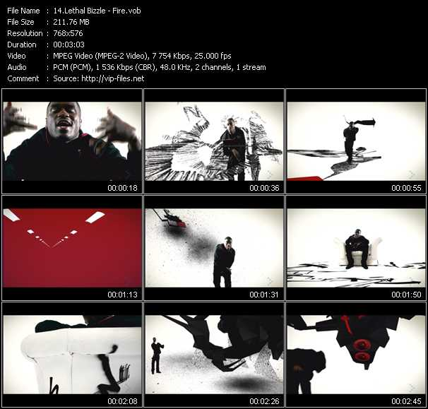 Lethal Bizzle video screenshot