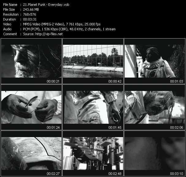 Planet Funk video screenshot