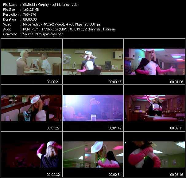 Roisin Murphy video screenshot