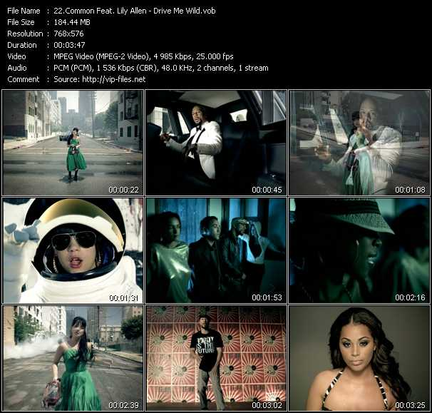 Common Feat. Lily Allen video screenshot