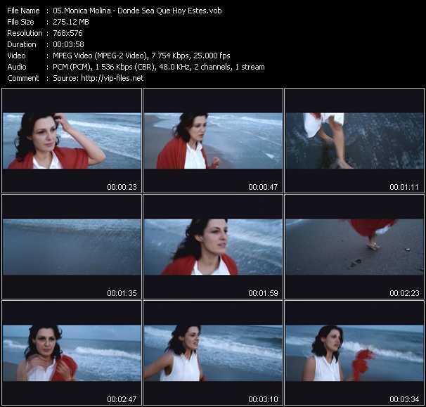 Monica Molina video screenshot
