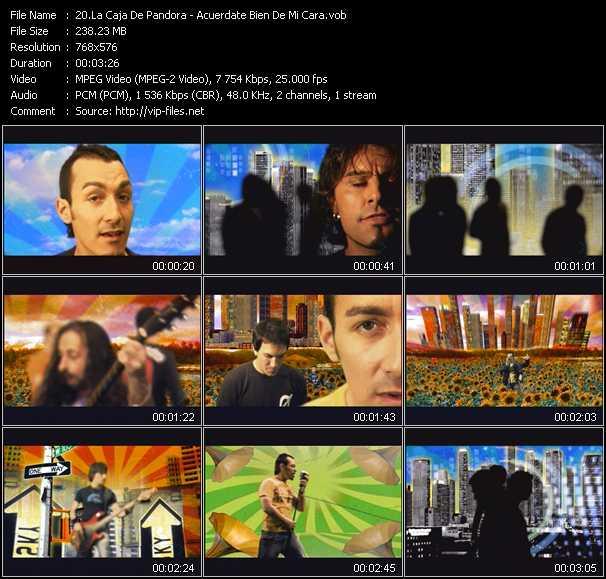 La Caja De Pandora video screenshot