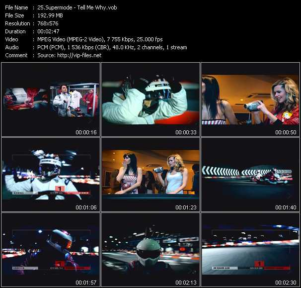 Supermode video screenshot