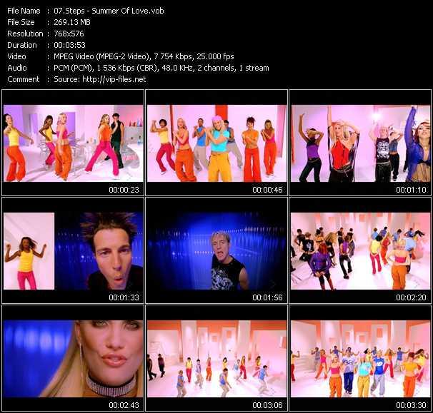 Steps video screenshot