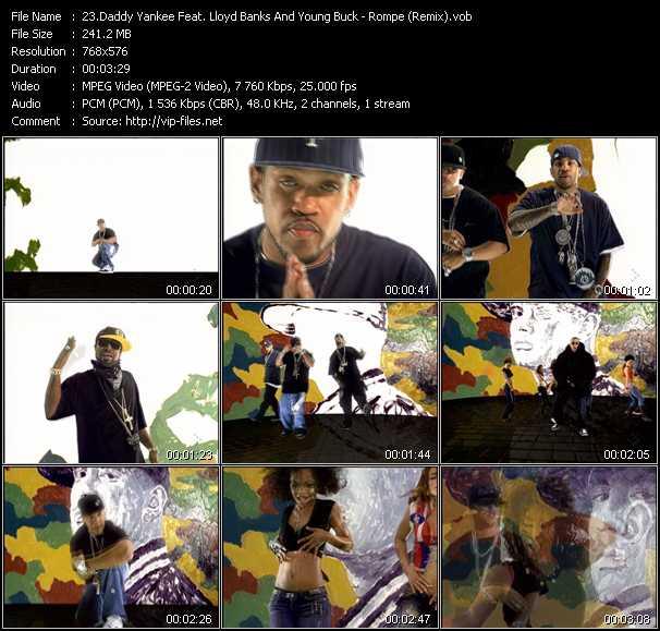video Rompe (Remix) screen