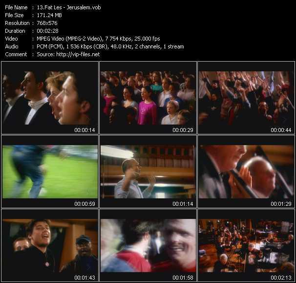 Fat Les video screenshot